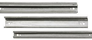 Aluminium rail 2H short
