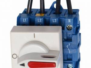 Main Switch 2p. 12A, 500VDC, DIN-rail mounted