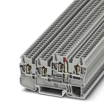 Initiator/actuator terminals STIO 2,5/3-2B/L-LA24GN/O-M