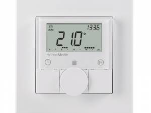 Homematic radio wall thermostat surface mounting