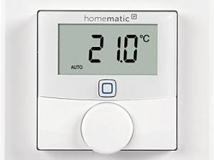 Homematic IP wall thermostat surface mounting