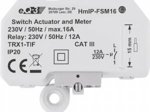 Homematic IP Switch actuator flush mounting