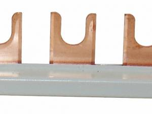 Busbar for Class II (C) Arr., 3x, insulated, for TN-C system