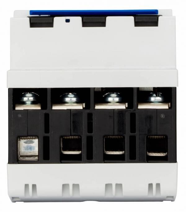 TYTAN T4P, D02-fuse-load-breaker, 20A, 3-pole + N