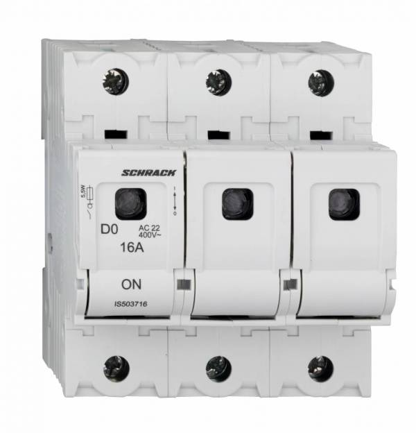 Switch-disconnector D02, series ARROW S, 3-pole, 16A