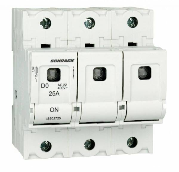 Switch-disconnector D02, series ARROW S, 3-pole, 25A
