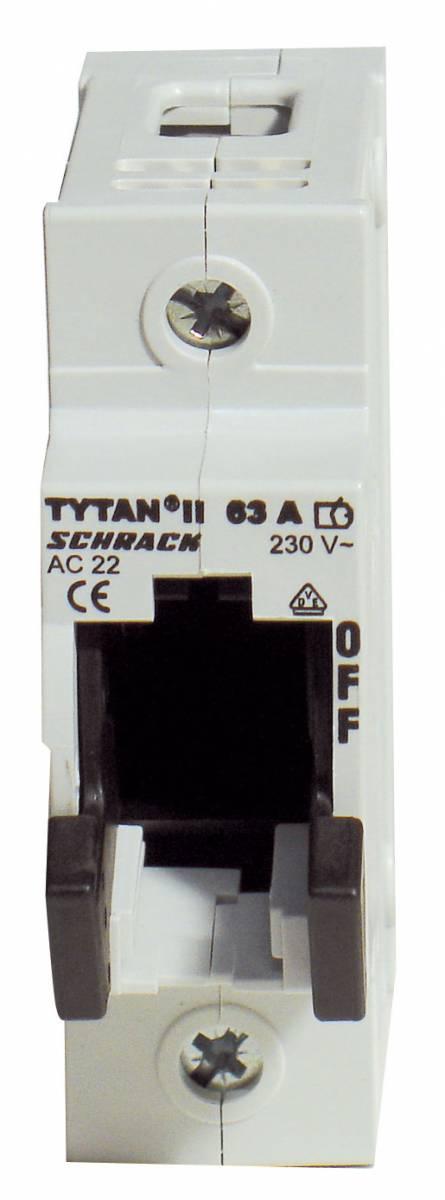 Fuse Loadbreak Disconnector TYTAN II, 1 pole, 63A, D02