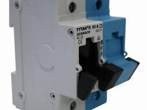 Fuse Loadbreak Disconnector TYTAN II, 1+N, 63A, D02