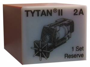 Fuse Plug for TYTAN II, 3 x 2A, D01, complete