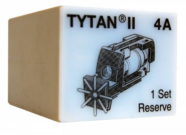 Fuse Plug for TYTAN II, 3 x 4A, D01, complete