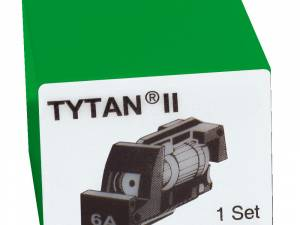 Fuse Plug for TYTAN II, 3 x 6A, D01, complete