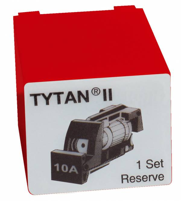 Fuse Plug for TYTAN II, 3 x 10A, D01, complete