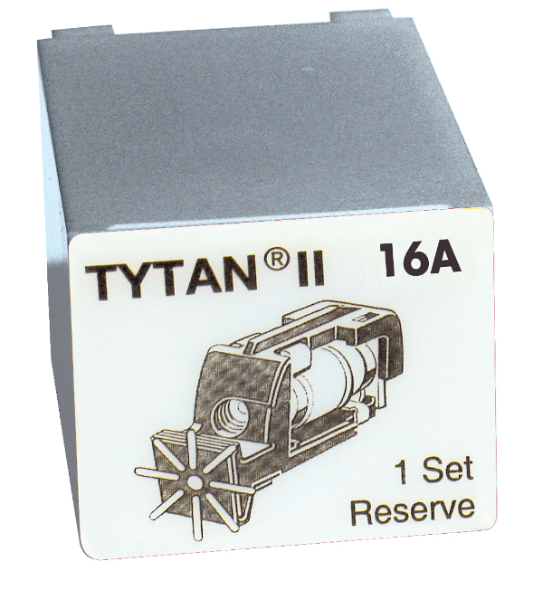 Fuse Plug for TYTAN II, 3 x 16A, D01, complete