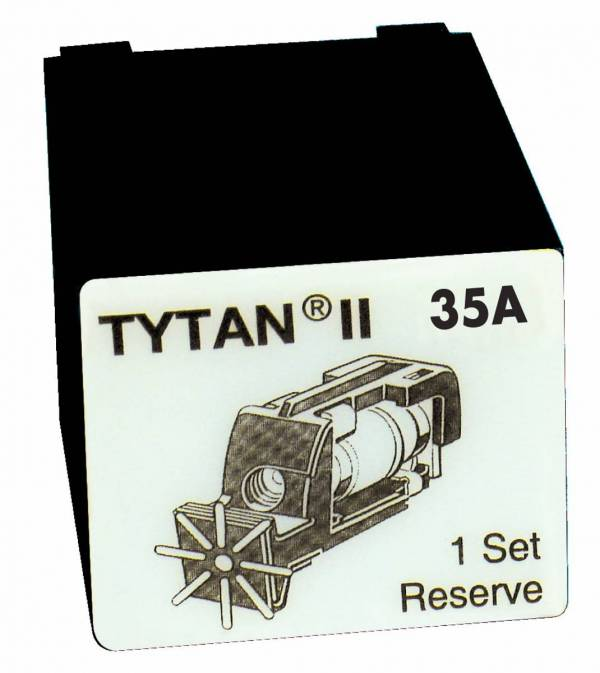 Fuse Plug for TYTAN II, 3 x 35A, D02, complete
