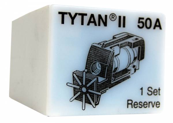 Fuse Plug for TYTAN II, 3 x 50A, D02, complete