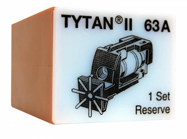 Fuse Plug for TYTAN II, 3 x 63A, D02, complete