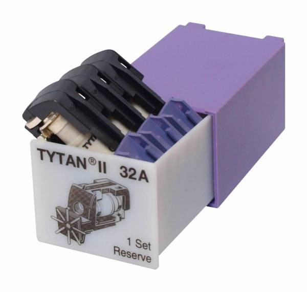 Fuse Plug for TYTAN II, 3 x 32A, D02, complete