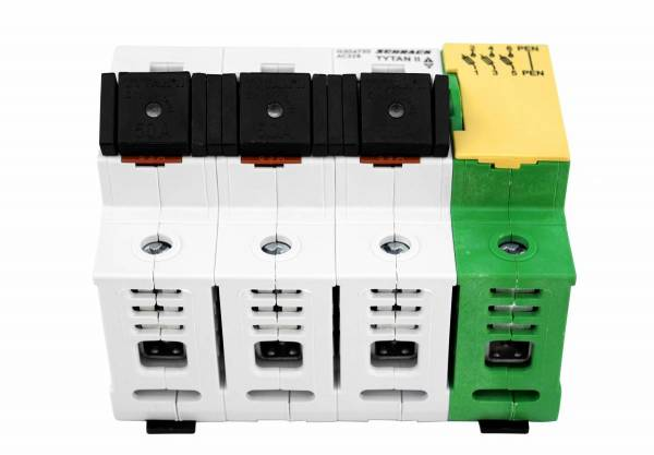 D02-Fuse Loadbreak Disconnector 63A TYTAN II, 3+PEN-terminal