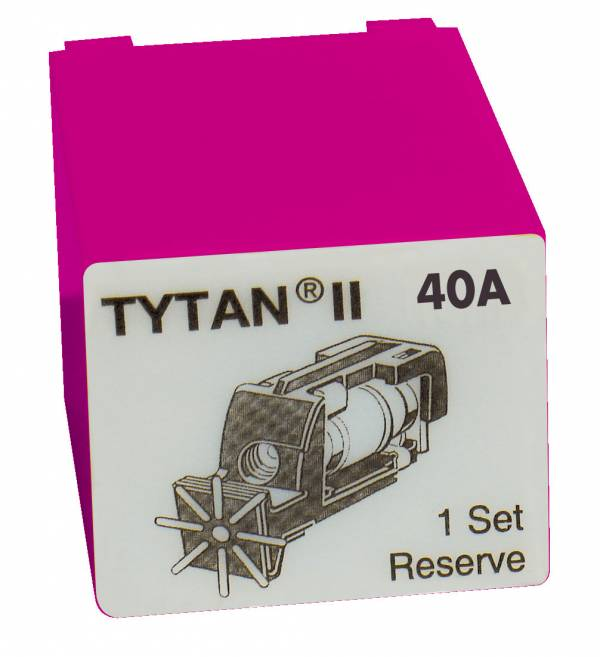 Fuse Plug for TYTAN II, 3 x 40A, D02, complete
