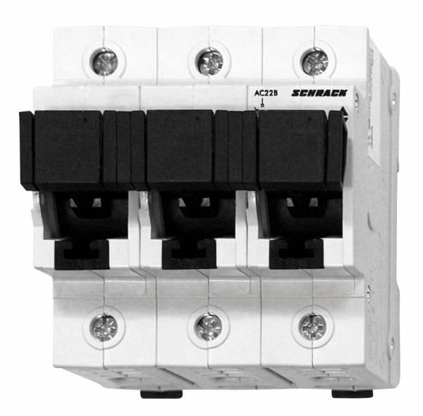 D02 - Loadbreak Disconnector TYTAN II, 3 pole, complete 35A