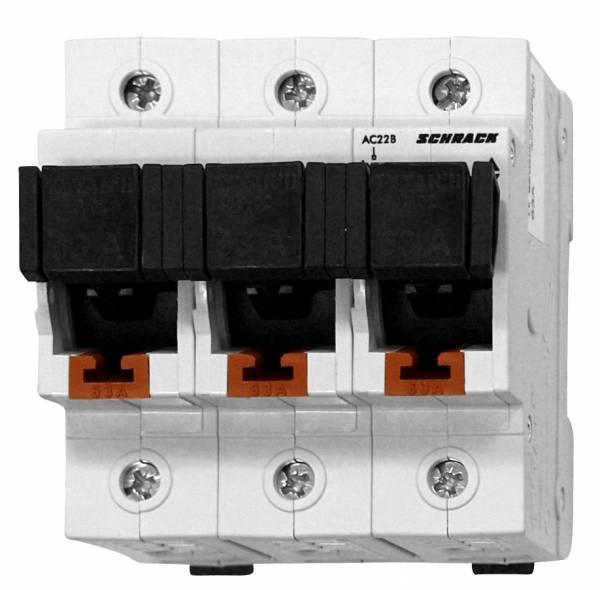 D02 - Loadbreak Disconnector TYTAN II, 3 pole, complete