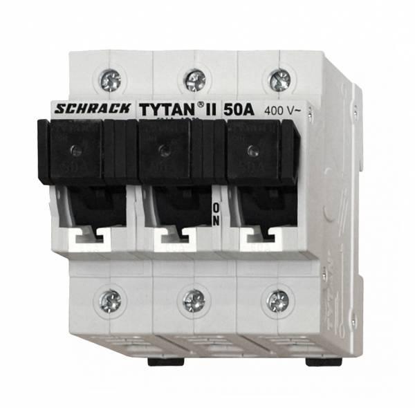 Tytan II 3-pole, fixed, 50A