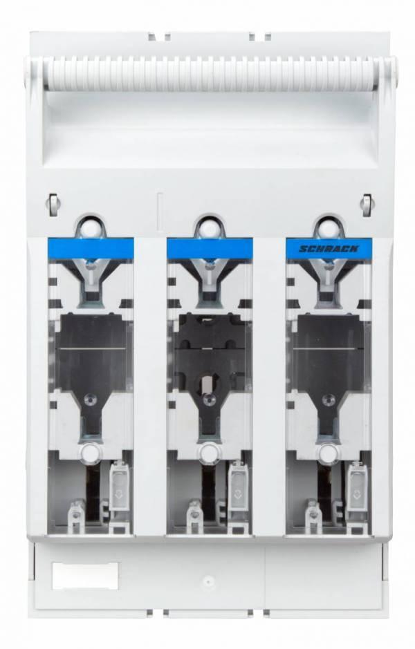 HRC-fuse-switch ARROW BLUE size.1 3-pole, M10