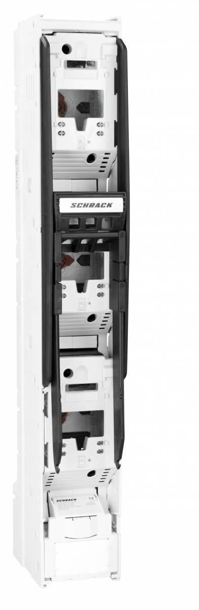 HRC-in-line-fuse ARROW LINE size 2, 3pole, 185mm, M12