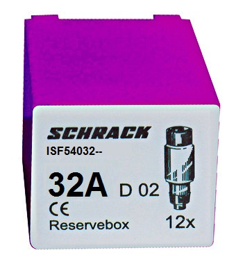 Servicebox with 12 fuses D02 / 32A