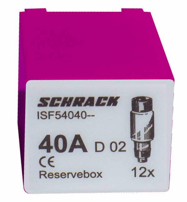 Servicebox with 12 fuses D02 / 40A