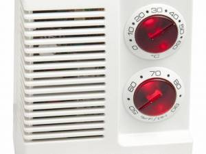 Electronic moisture and temperature control