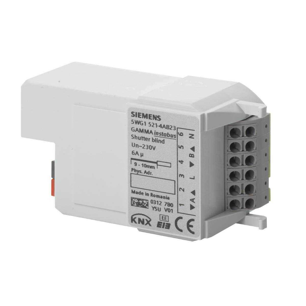 Shutter Actuator' 2 x AC 230 V' 6 A