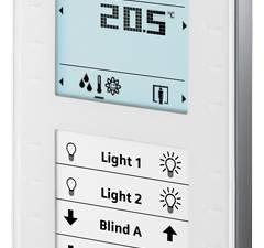 Control unit with Display, keys and temperature sensor