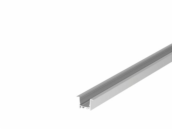 GRAZIA 20 LED Recessed profile, 2m, alu