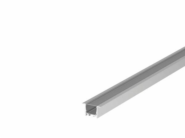 GRAZIA 20 LED Recessed profile, 3m, alu