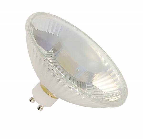 LED QPAR111 GU10 Bulb, 30°, 2700K, 400lm, 3 step dimmabel