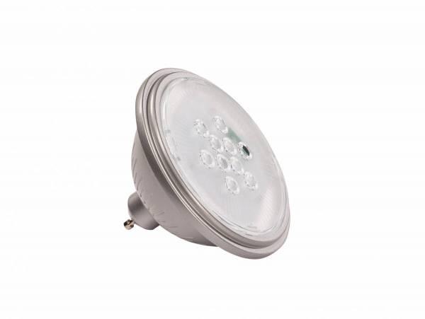 VALETO LED QPAR111,GU10 Bulb,40°,silvergrey,830lm,2700K,dimm