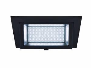 ALAMEA LED Recessed ceiling luminaire, black, 4000K, 35W