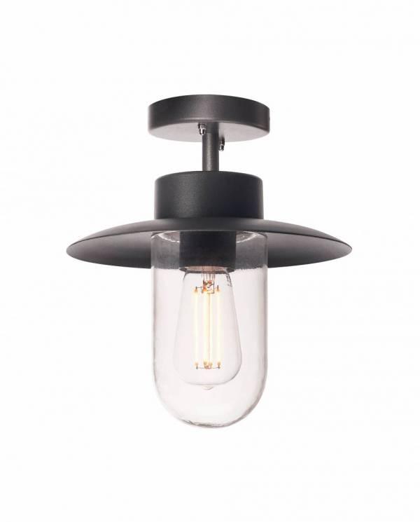 MOLAT E27 Outdoor Ceiling luminaire,anthracite,60W,IP44