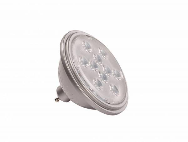LED QPAR111 GU10 Bulb, 13°, silvergrey, 4000K, 730lm