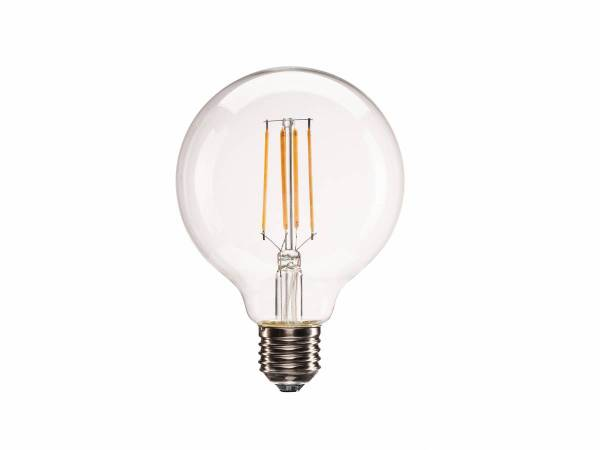 E27 LED G95 Bulb, 330°, 2700K, 806lm, dimmable