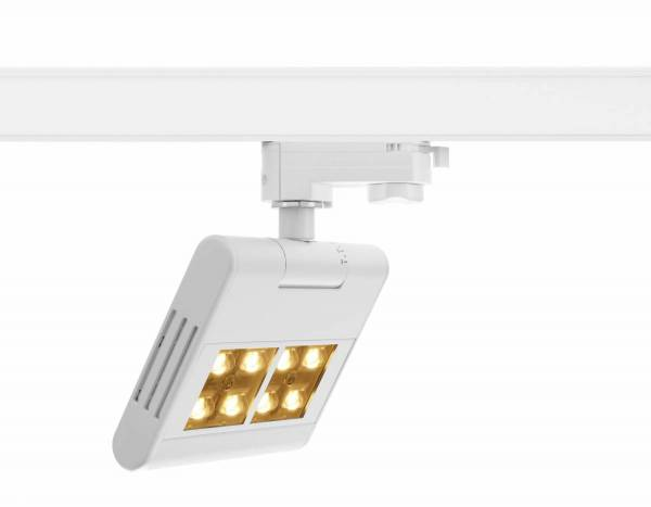 LENITO TRACK, white, 3000K, incl. 3-circuit adapter