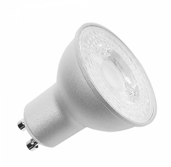 LED lamp, QPAR51, GU10, 7.2W, 36°, 3000K silver