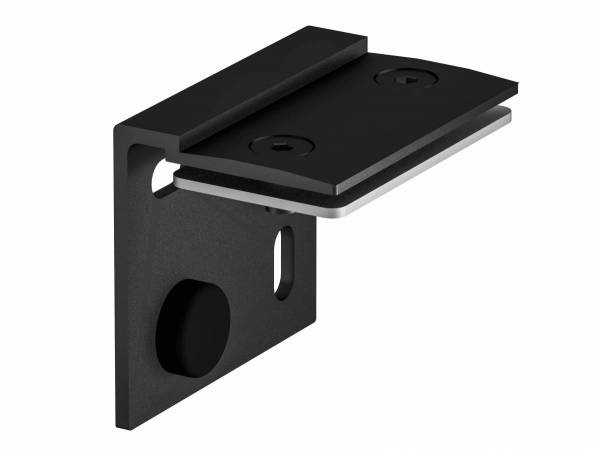 H-PROFILE wall holder, black