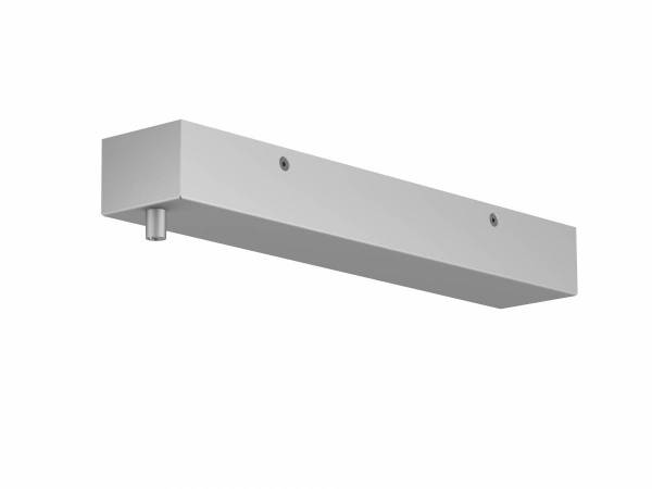 H-PROFILE ceiling plate, silver