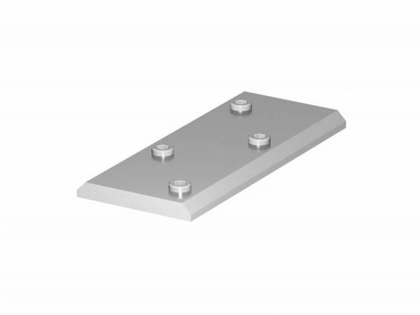 H-PROFILE connector, silver