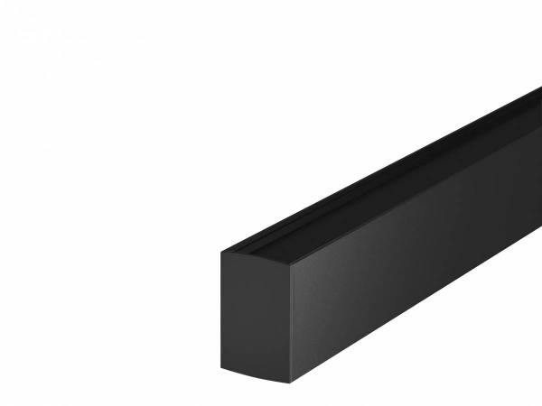 H-PROFILE end caps, black