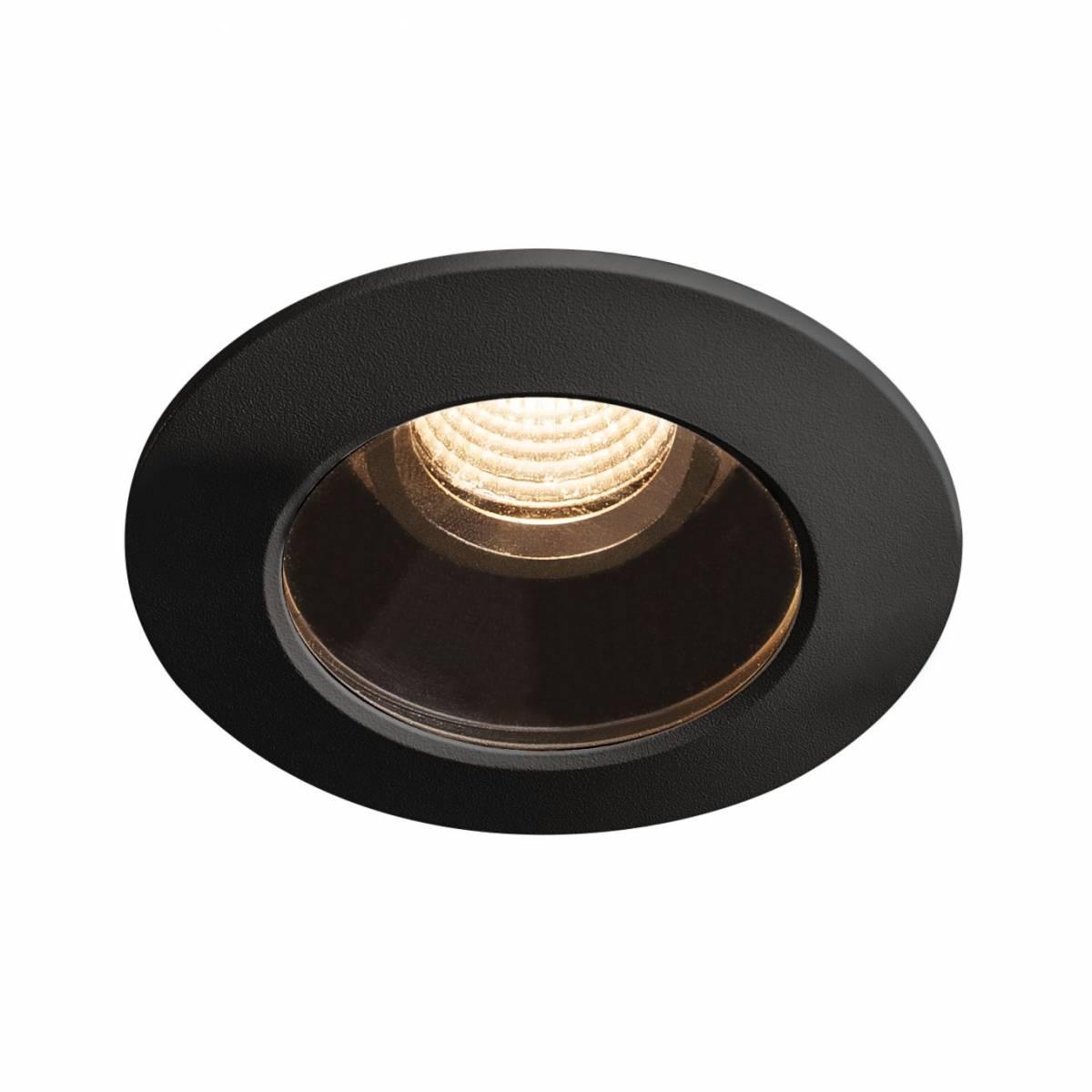 VARU DL, black, IP20/65, 2700K