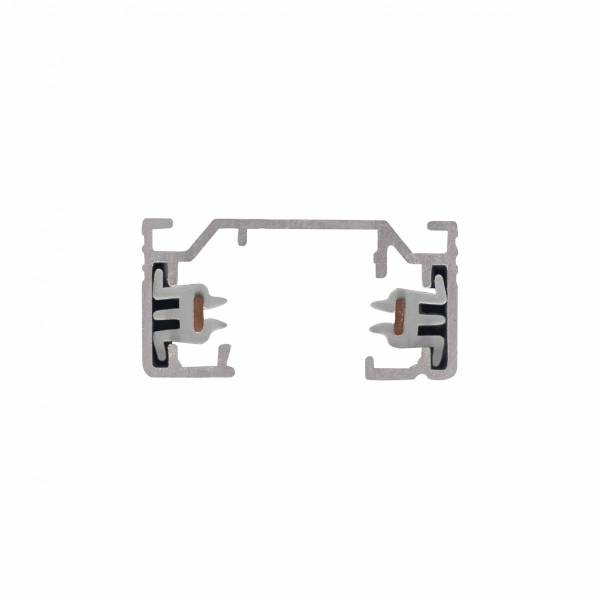 1-circuit 240V track, surface-mounted, silver, 3m