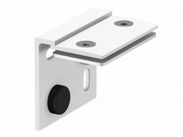 H-PROFILE wall holder, white